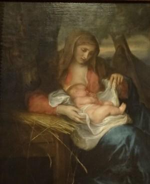 Madonna della Paglia - Antoon Van Dyck.