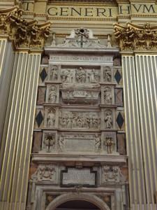 Pope Pius III's tomb.