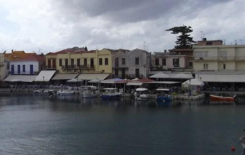 Venetian harbour, Rethymnon.