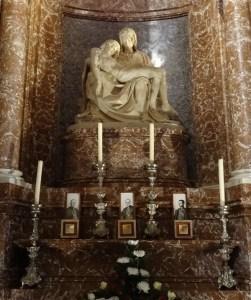 Pietà by Lorenzetto.