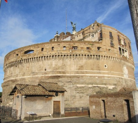 Drum of the Castel Sant'Angelo.