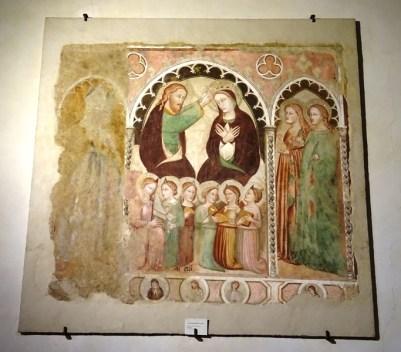 Coronation of the Virgin.