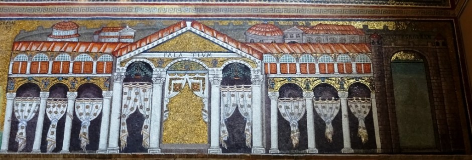 Mosaic of the Palatium.