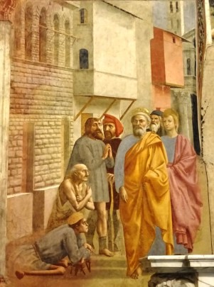 Brancaccikapel - Masolino, Masaccio, Lippi10