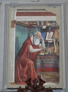 Saint Jerome by Ghirlandaio.