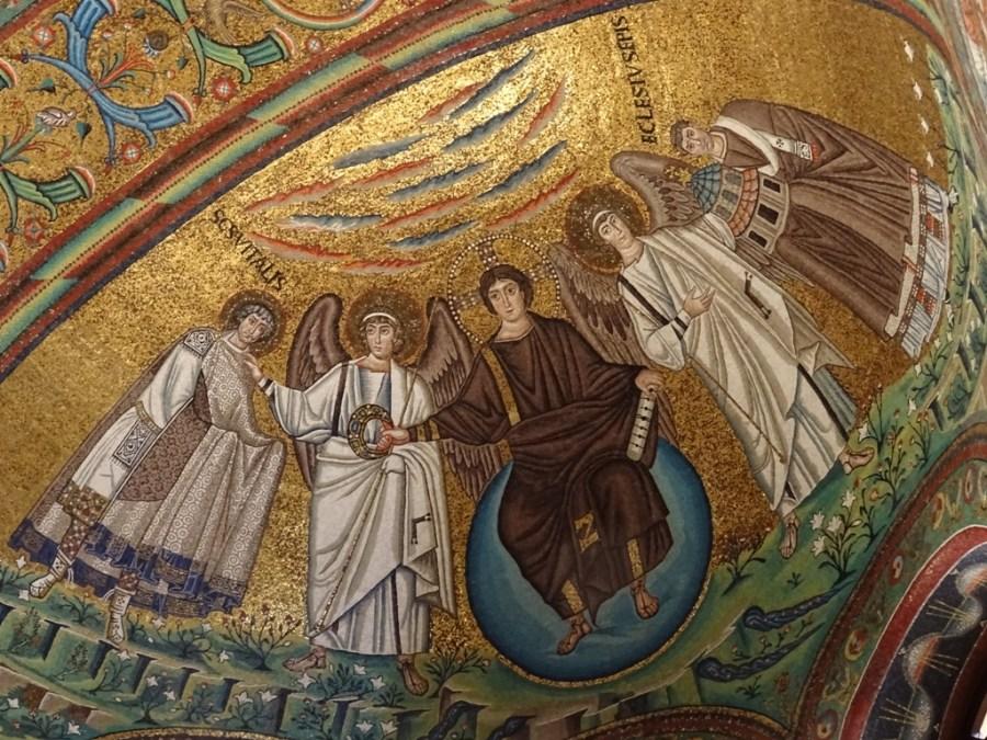 Apse mosaic.