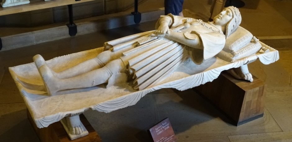 Effigy of Gaston de Foix.