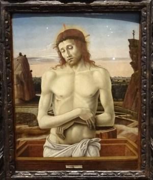 Imago Pietatis - Giovanni Bellini.