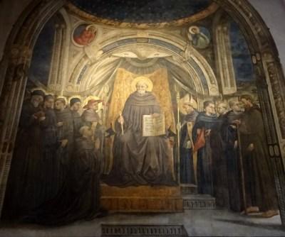 Fresco by Neri di Bicci.