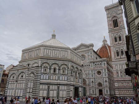 The Baptistery and the Duomo.