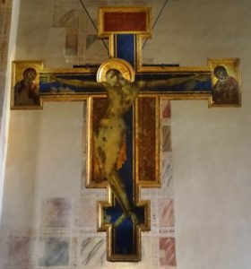 Crucifix by Cimabue.