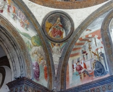 Fresco's by Vincenzo Foppa.