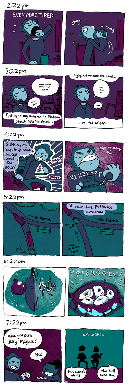 54 – #HourlyComicDay pt. 3