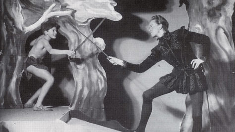Ingmar Bergman's 1941 A Midsummer Night's Dream at Sagoteatern