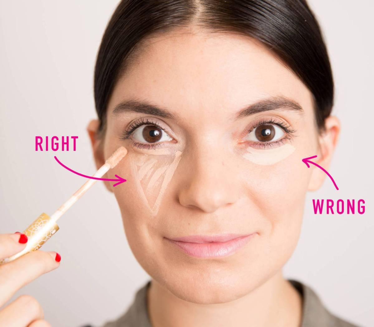 Under-Eye Brightness beauty tip