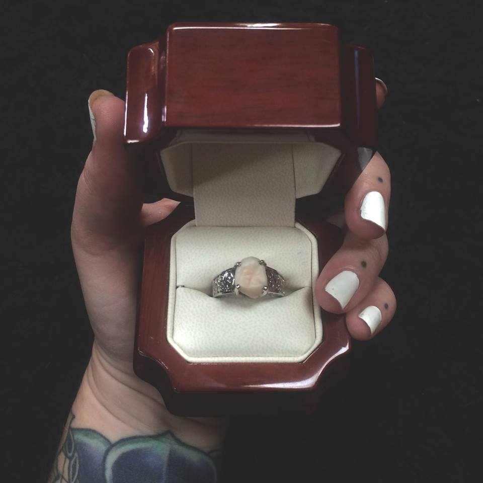 A woman's engagement ring is her fiance's wisdom tooth.