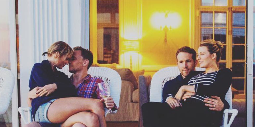 taylor swift tom hiddleston instagram official photo