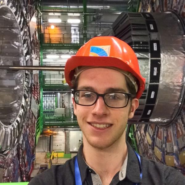 Nicholas Haubrich at CERN