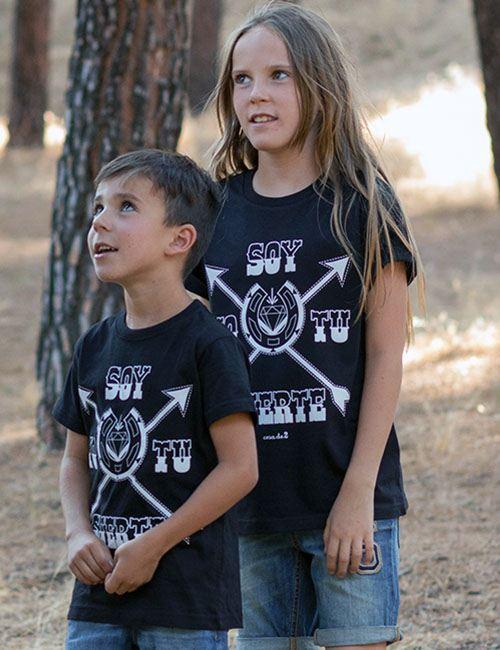 "Camiseta para chicos ""Soy yo tu suerte"""