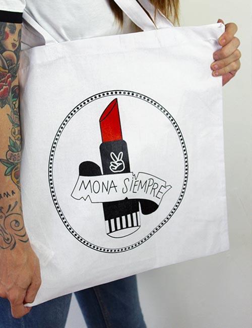 "Tote Bag ""Mona siempre"""