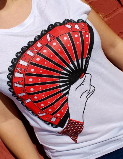 """Camiseta de tirantes """"Pa Flamenca Yo"""""""