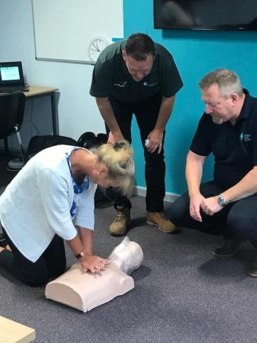 AED CPR Training Northern Ireland
