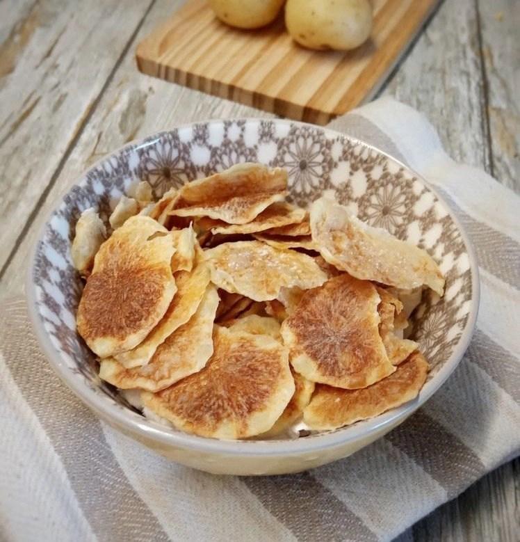 Ricetta patatine croccanti