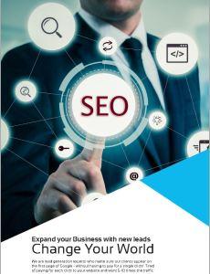 SEO brochure cover