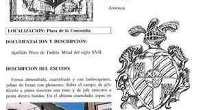 COSAS DE LORCA - ESCUDO CASA PLAZA CONCORDIA