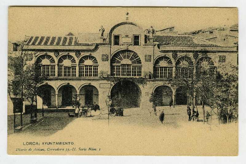 COSAS DE LORCA - AYUNTAMIENTO LORCA 1907