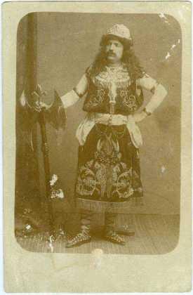 COSAS DE LORCA - VERDUGO ASUERO PASO BLANCO 1903