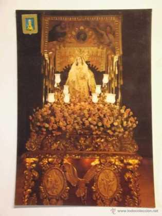 COSAS DE LORCA - Postal Virgen de la Amargura
