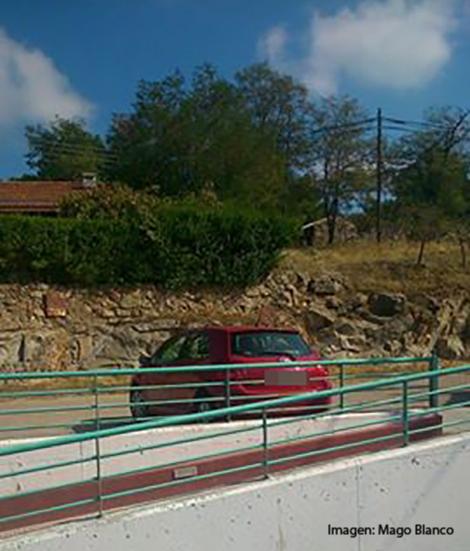 Todavía hoy permanecía el vehículo del individuo en el parking de la estación.