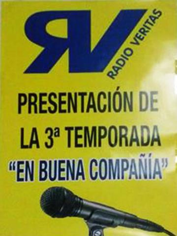 """Radio Veritas- """"en buena Compañia""""programa en que colabora Javier"""