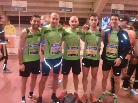 De izquierda a derecha: Guillermo García, Bernardo Martín, David Moral, Álvaro Martin y Luis Martin
