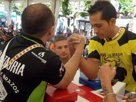 Marino (dcha)en la final con Camilo