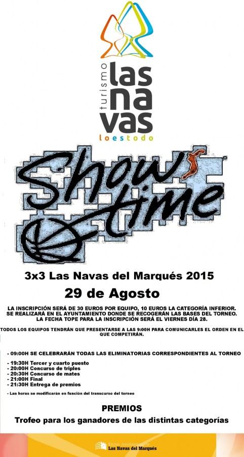 show-time-de-baloncesto-modalidad-3x3