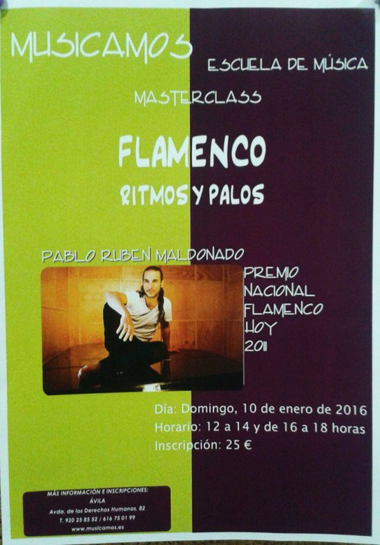 Masterclass_Flamenco_cartel