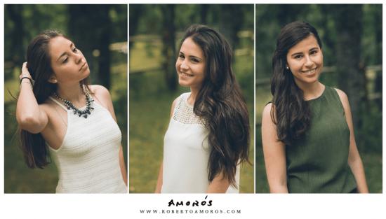 Silvia, Sara y Elena,