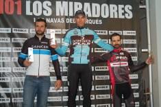 MASTER 30 101 KM. 1. Rubén Sánchez 2. Carlos Tenorio 3. David Martínez