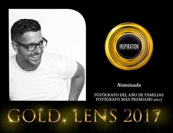 Roberto Amorós nominado a la lente de oro