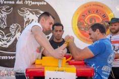Hristo Petkov derch vs Cosmin Mircea. Izq -80kg