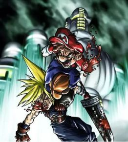 Mario vs Cloud Strife