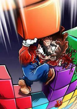 Mario vs Tetris