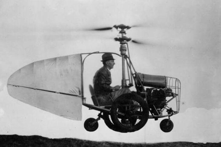 Coche volador de Glenn Curtiss