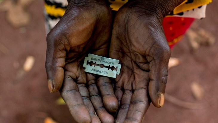 Uno de los instrumentos que se utilizan para llevar a cabo la mutilación