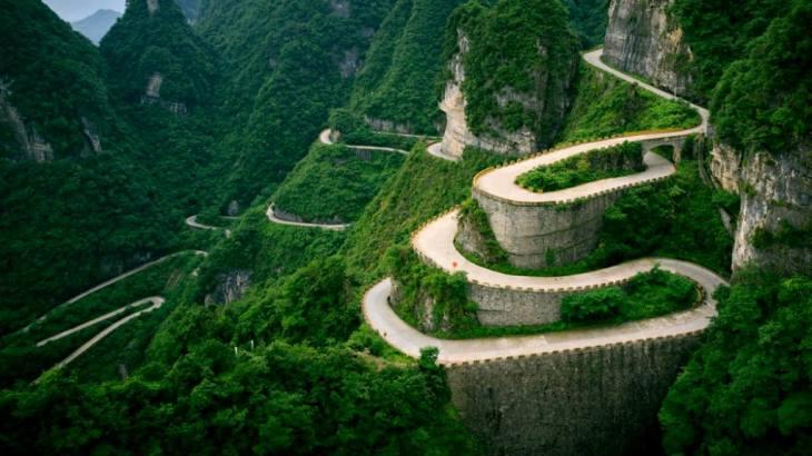 Tianmen Shan, mas conocida como puerta del cielo.