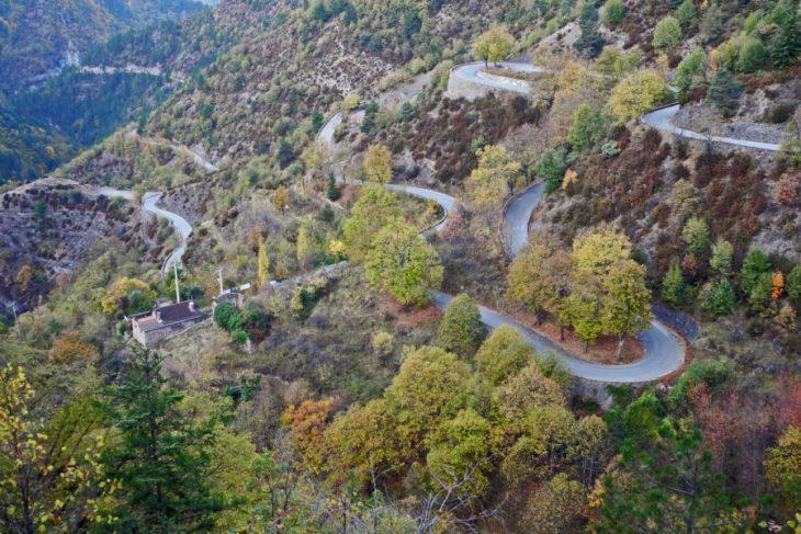 Col de Turini, Francia.