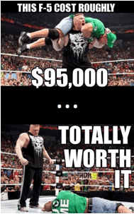 Cost a lot less than the WWE network