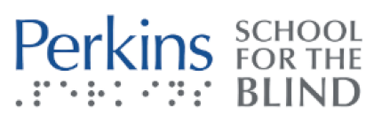 Logo for Perkins School for the Blind